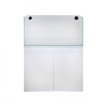 TMC Signature 90cm Aquarium Set with White Cabinet