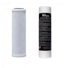 TMC V2Pure Sediment and Active Carbon Block Filter TWIN PACK
