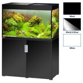 Eheim Incpiria 400 Black/Metallic Silver Aquarium