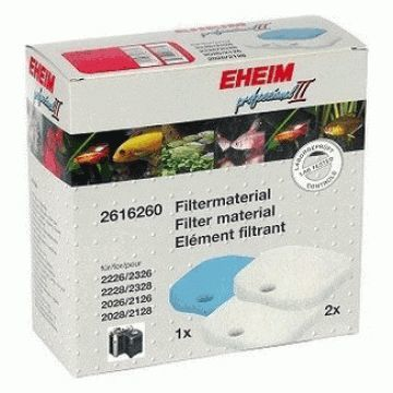 Eheim Professional II Blue and White Filter Pad Set