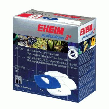 Eheim Pro 3e Blue and White Filter Pad Set for 450 and 700