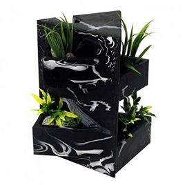 Fluval Edge Black Marble Ornament
