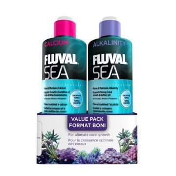 Fluval Sea Alkalinity and Calcium Pack (473ml)