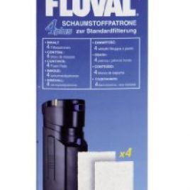 Fluval 4 Plus Foam Insert (4 Pcs)