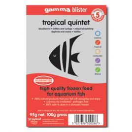 Gamma Tropical Quintet Blister Pack 100g