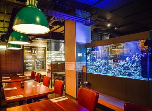 Custom Steakhouse Aquarium - Soho W1F