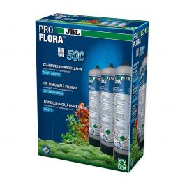 JBL Proflora u500 Disposable CO2 Bottles (x3)