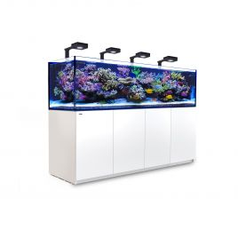 Red Sea Reefer 3XL 900 Deluxe Aquarium (White) 4 x ReefLED 90
