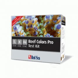 Red Sea Coral Colours Pro Test Kit
