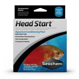 Seachem Headstart Water Conditioner Pack